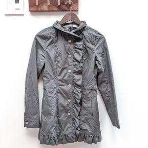 Stella Star Ruffle Rain Coat